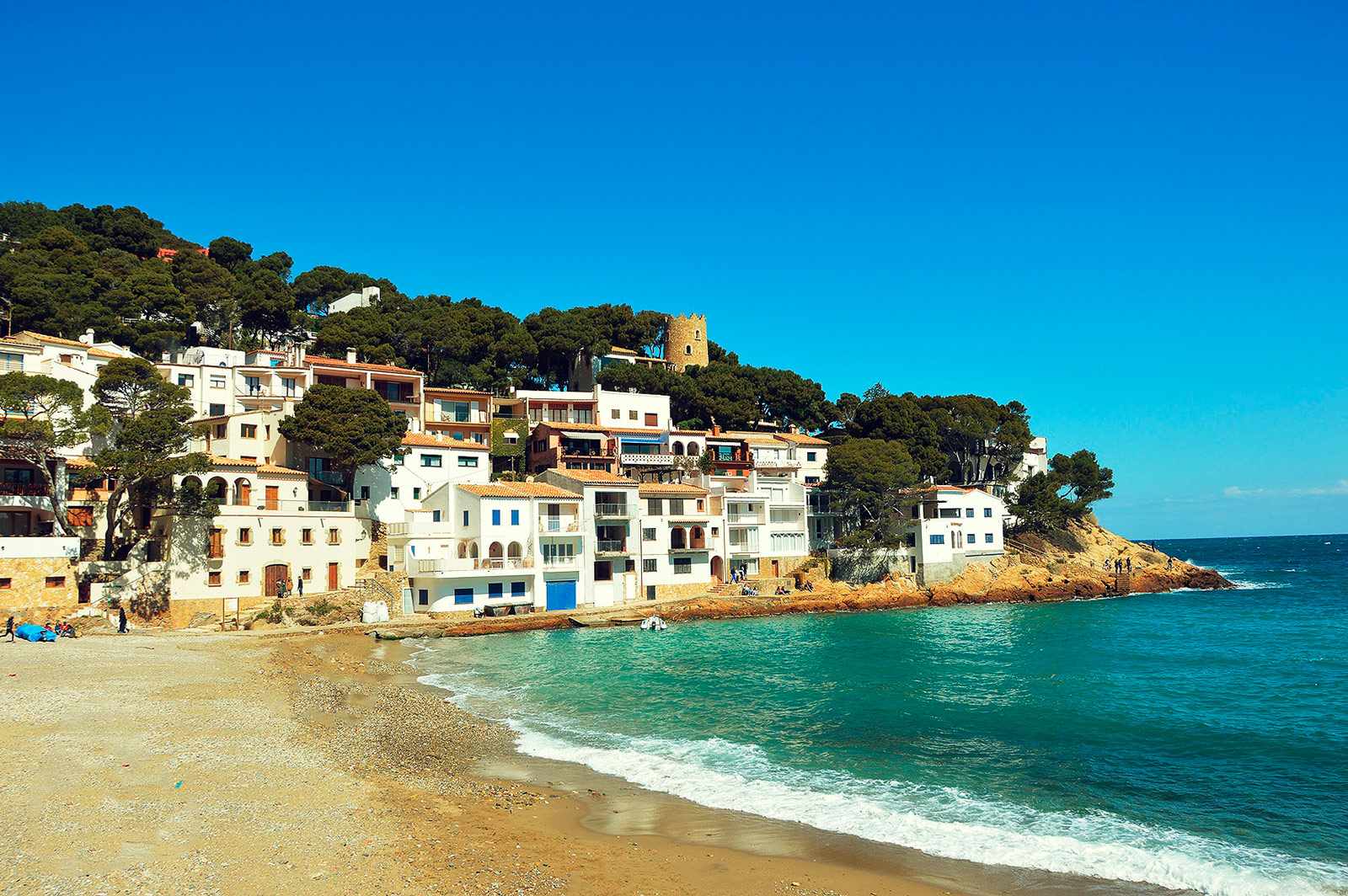A hotel to visit the best beaches of the Costa Brava